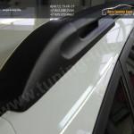 Рейлинги на крышу алюминиевые Hyindai Solaris хэтчбек 2011 +