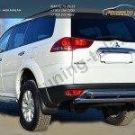 Защита заднего бампера d63 (дуга) d63 (дуга) Mitsubishi Pajero Sport 2013+