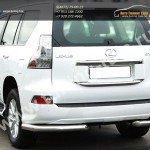 Защита задняя уголки d76 Lexus GX-460 2013+