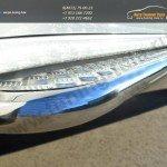 Пороги труба d63 с алюминиевым листом  Mitsubishi Pajero Sport 2013+