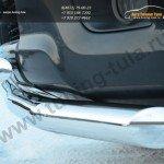 Защита переднего бампера d76(секции) d63(секции)  Land Cruiser Prado 150 2009-2012