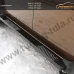 Комплект порогов РА Renault Duster 2011+