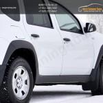 Накладки на арки колес PT/ абс-пластик / Рено Дастер