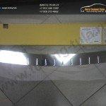Накладка заднего бампера от царапин Alufrost /Нерж.сталь/ Opel MOKKA 2012+