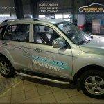 Lifan X60 2012+/ Пороги Alyans (алюминий)