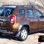 Комплект порогов РА вар.1 или вар.2 для Renault Duster 2011+/арт.476-2