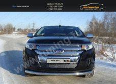 Накладки на решетки радиатора+бампера d12 Ford EDGE 2014+/арт.738-7