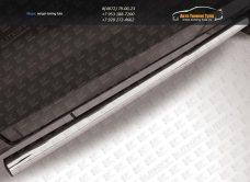 Пороги труба d76  Chevrolet Captiva 2013+ / арт.739-4