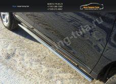 Пороги труба d60 Ford EDGE 2014+/арт.738-6