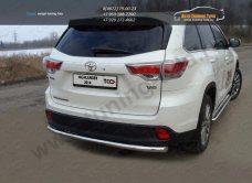 Защита задняя d60,3 мм Toyota Highlander 2014 +/арт.737-4