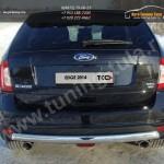 Зашита задняя овальная d75х42мм Ford EDGE 2014+