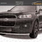 Защита бампера d57 радиусная Chevrolet Captiva 2013+