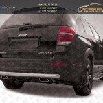 Защита заднего бампера d57 Chevrolet Captiva 2013+