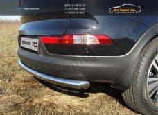 Защита задняя (центральная) 60,3 мм Kia Sportage 2014+ / арт.743-1