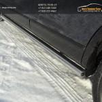 Пороги труба d76,1 мм Mazda CX-9 2013+