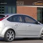Накладки порогов MS Форд Фокус 2 2004-2011