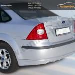 Юбка заднего бампера FT Форд Фокус 2 седан с 2004-08