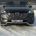 Защита передняя нижняя 42,4 мм Mazda CX-9 2013+