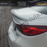 Лип спойлер багажника Mazda 6 2013+