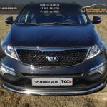 Защита передняя нижняя 60,3 мм Kia Sportage 2014+