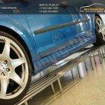 Накладки порогов ICC Форд Фокус 2 2004-2011/3-4-5дв.