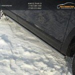 Пороги труба d60.3 мм Mazda CX-9 2013+