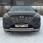 Защита передняя нижняя 50,8/50,8 мм Mazda CX-9 2013+