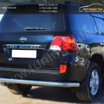 Защита заднего бампера D76 (секции) Toyota LC 200 с 2012г.в.