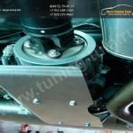 Защита дифференциала (алюминий) 4 мм Nissan Qashqai 2014 +