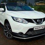 Защита передняя нижняя 42.4 мм Nissan Qashqai 2014 +