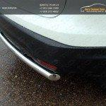 Защита задняя (центральная) 60,3 мм Nissan Qashqai 2014 +