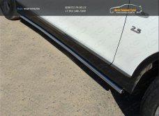 Пороги труба 42,4 мм Infiniti QX 50 2014+ /арт.745-1