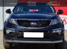 Защита переднего бампера d63 (секции) KIA SPORTAGE 2014- /арт.253-9