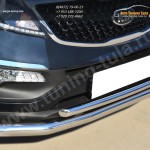 Защита переднего бампера d63 (секции) 42 (дуга)KIA SPORTAGE 2014-