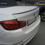 Лип спойлер багажника M-Стиль BMW 5 series F10 2010+