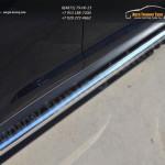 Пороги труба d63 (вариант 1) KIA SPORTAGE 2014-