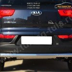 Защита заднего бампера d63 (секции) KIA SPORTAGE 2014-
