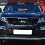 Защита переднего бампера d63 (секции) KIA SPORTAGE 2014-