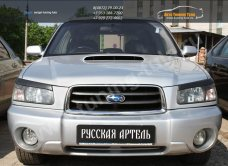 Накладки на фары Subaru Forester 2002+/арт.701-8