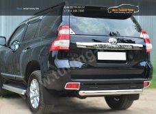 Защита заднего бампера d76 (дуга) Toyota Land Cruiser Prado 150 2014+ / арт.153-4