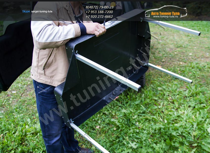 Коврик-стол багажного отделения Chevrolet Niva 2002+/арт.701-11