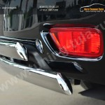 Nissan Patrol 2014- Защита заднего бампера d75х42 (дуга) d75х42 (дуга)