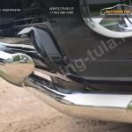 Защита переднего бампера d63 (секции) d63 (секции)+декор Toyota Land Cruiser Prado 150 2014+