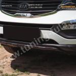 Тюнинг накладка переднего бампера Вар. 2 KIA Sportage 2010+