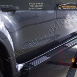 Комплект порогов РА Nissan Terrano 2014+