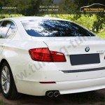 Защита от царапин/Накладка бампера абс-пластик BMW 5 седан 2010+
