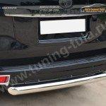 Защита заднего бампера d76 (дуга) Toyota Land Cruiser Prado 150 2014+
