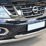 Nissan Patrol 2014- Защита переднего бампера d76 (дуга) d76 (дуга)