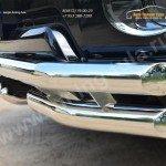 Защита переднего бампера d63 (секции) d63 (уголки)+d42 (зубы) Toyota Land Cruiser Prado 150 2014+