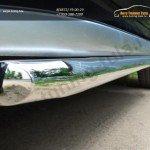 Защита порогов d42  Toyota Land Cruiser Prado 150 2014+